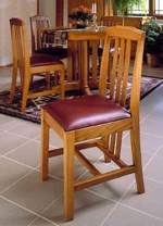 31-MD-00125 - Mission Dining Chairs Woodworking Plan.