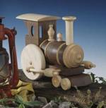Chubby Choo-Choo Train Woodworking Plan, dp-00127,train,choo-choo,scrollsaw,small,locomotive,fee woodworking plans,projects,patterns,blueprints,build,construction,how to,diy,do-it-yourself