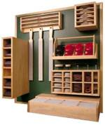 Sanding Supply Center Organizer Woodworking Plan