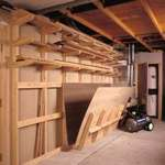 Lumber Storage Rack Woodworking Plan.