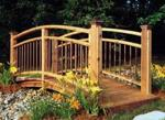 31-MD-00139 - Arched Garden Footbridge Woodworking Plan