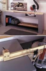 Mitersaw Stand Woodworking Plan