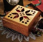 31-MD-00156 - Potpourri Box Woodworking Plan