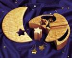 fee plans woodworking resource from WoodworkersWorkshop Online Store - dp-00157,jewelry box,jewelery,boxes,small,moon,star,lunar,storage,fee woodworking plans,projects,patterns,blueprints,build,construction,how to,diy,do-it-yourself