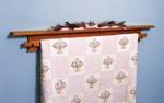 Quilt Hanger Woodworking Plan
