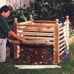fee plans woodworking resource from WoodworkersWorkshop Online Store - dp-00165,compost crib,compost bin,organic,soil,gardening,outdoors,fee woodworking plans,projects,patterns,blueprints,build,construction,how to,diy,do-it-yourself