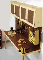 Space Saving Work Center Woodworking Plan woodworking plan