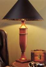 Turned Table Lamp Woodworking Plan