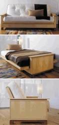Sleeping Beauty Futon Woodworking Plan.