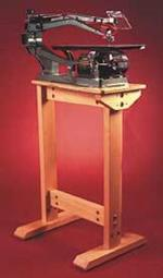 Scrollsaw Stand Woodworking Plan.