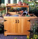 31-MD-00193 - Potting Bench Woodworking Plan