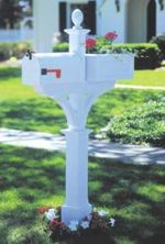 31-MD-00195 - Mailbox Planter Woodworking Plan