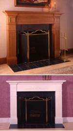 31-MD-00219 - Fabulous Fireplace Surround Woodworking Plan.