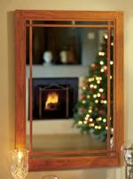 Cherry Wall Mirror Woodworking Plan