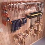 fee plans woodworking resource from WoodworkersWorkshop Online Store - dp-00230,clamps,wall mounted,workshops,storage,holders,racks,organization,fee woodworking plans,projects,patterns,blueprints,build,construction,how to,diy,do-it-yourself