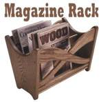 31-MD-00236 - Magazine Rack Woodworking Plan