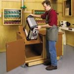 Flip Top Work Center Woodworking Plan