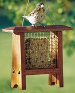Suet Bird Feeder Woodworking Plan
