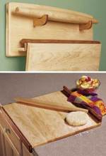 Bakers Trio Woodworking Plan.
