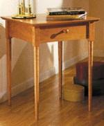 Shaker Nightstand Woodworking Plan.