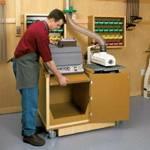 Dual Purpose Sanding Center Woodworking Plan Set