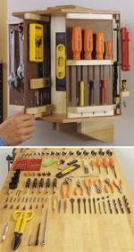 Tool Carousel Woodworking Plan.
