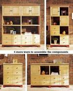 31-MD-00257 - Knockdown Modular Cabinet System Woodworking Plan