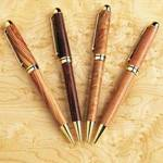 Turned Writing Pens Woodworking Plan