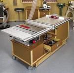Mobile Sawing and Routing Center Woodworking Plan.