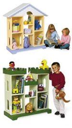 Storybook Storage Woodworking Plan.