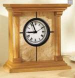 Architectural Clock Woodworking Plan.