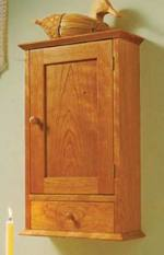 Shaker Wall Cabinet Woodworking Plans