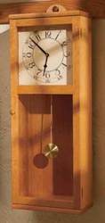 Simply Stated Shaker Clock Woodworking Plan