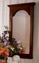 American Beauty Wall Mirror Woodworking Plan