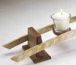 31-MD-00315 - Candles on a Curve Woodworking Plan