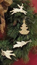 fee plans woodworking resource from WoodworkersWorkshop Online Store - ornaments,christmas,scroll saw,downloadable PDF,patterns,scrollsaw,scrollsawn,christmas tree,angel,dove,reindeer,small,wooden,woodworking plans,woodworkers projects,blueprints,WOODmagazine,WOODStore