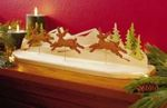 Reindeer in Flight Downloadable Woodworking Plan PDF, reindeer,scrollsaw,centerpiece,downloadable PDF,patterns,indoor,scroll saw,3D,three dimensional,scrollsawn,christmas,woodworking plans,woodworkers projects,blueprints,WOODmagazine,WOODStore