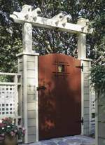 31-MD-00322 - Grand Entrance Garden Gate Woodworking Plan