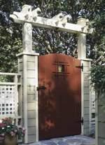 Grand Entrance Garden Gate Woodworking Plan