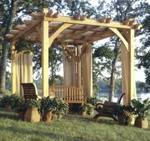 Build To Suit Pergola Woodworking Plan.