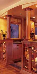 31-MD-00336 - Room Dividing Cabinets Woodworking Plan
