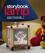 Storybook Lamp Downloadable Woodworking Plan PDF, lamps,childrens,lighting,downloadable PDF,patterns,scroll saw,childs,kids,bedrooms,woodworking plans,woodworkers projects,blueprints,WOODmagazine,WOODStore