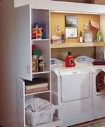 Full Service Laundry Center Woodworking Plan
