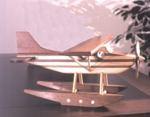 Toy Floatplane Woodworking Plan.