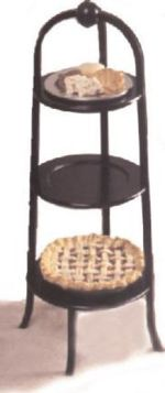 Three Tiered Pastry Stand Woodworking Plan