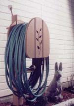 Garden Hose Hanger Woodworking Plan
