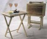 Folding Tray Tables Downloadable Woodworking Plan PDF, folding tables,tray tables,tv tables,downloadable PDF,patterns,folding,wooden,inlay,woodworking plans,woodworkers projects,blueprints,WOODmagazine,WOODStore