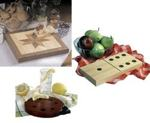 Trio of Cutting Boards Woodworking Plan