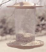 Turned Bird Feeder Woodworking Plan