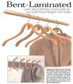 31-MD-00402 - Bent Laminated Hangers and Coat Rack Woodworking Plan